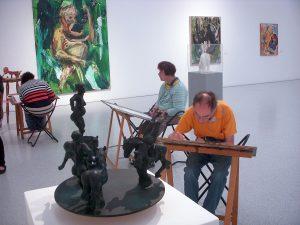 Künstler treffen auf Künstler  im Museum-Würth
