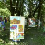 Ausstellung im Park
