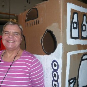 Heide Rumm und ihr Automat