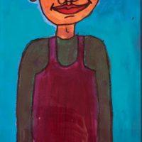 aus Serie: Frau Le, 2014, Acryl