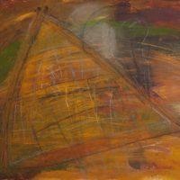 Wind am Haus, 2013, Acryl, Kreiden