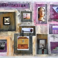 Schaufenster, 2015, Collage
