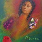 Maria träumt, 2015, Collage