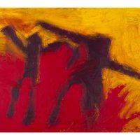 Die Umarmung, 2012, Ölfarbe