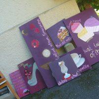 kleine Ausstellung wandert in die Bäckerei Stäbler