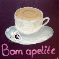 Cappuccino, 2016, Acryl